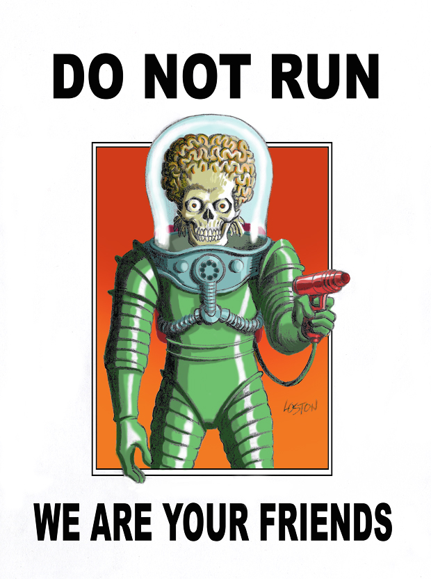 mars attacks do not run