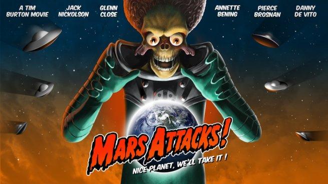 Mars Attacks quad
