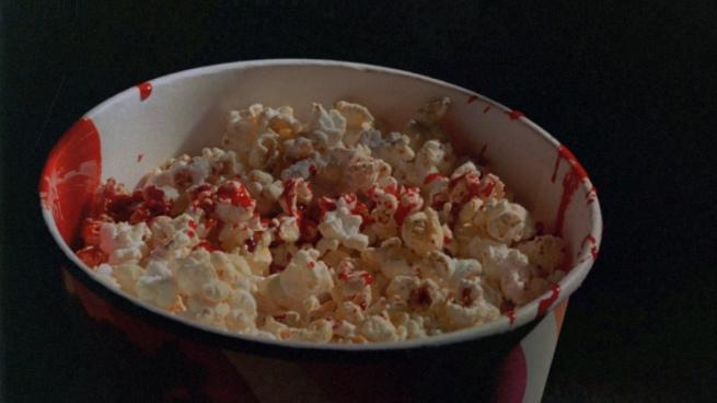 popcorn blood